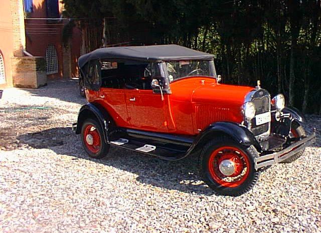 FORD A 1929 cheio