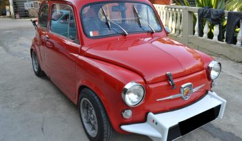 FIAT 600 1972 full
